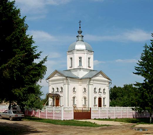 Хомутово и Новодеревеньковский район