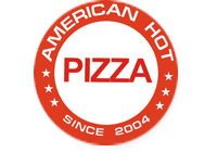 American hot pizza, логотип